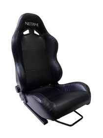 2001-2003 Honda Civic Netami Racing Seats - Renegade (Black)