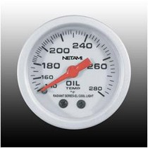 "1992-2000 Mercedes S-Class Netami 2"" EL Oil Temperature Meter"