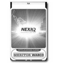 2000-2005 Lexus Is NEXIQ TECH Meritor Wabco ABS Air Brake Application Card For The MPC - Pro-Link®, Plus and Pro-Link GRAPHIQ With PLC