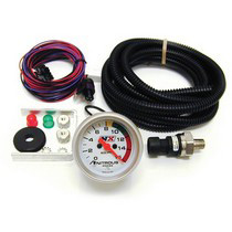 1995-1997 Lincoln Continental Nitrous Express Nitrous Electric Pressure Gauge - 2 5/16-Inch (with Sensor)