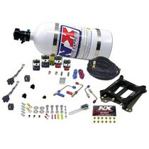 1999-2003 BMW M5 Nitrous Express Nitrous System - 4150 Dual-Stage Shark Plate (50-300 HP and 100-500 HP with 10 LB Bottle)
