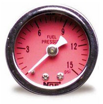 2008-9999 Smart Fortwo NOS® Fuel Pressure Gauge (0–15 PSI)
