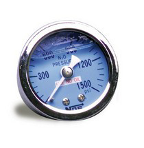 Universal NOS® Liquid Filled N2O Pressure Gauge