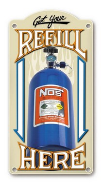 1995-1999 Oldsmobile Aurora NOS® Refill Metal Sign