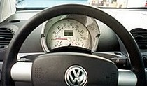 99+ Up VW Beetle A/T NR Automobile Accessories Replacement Gauge Face White