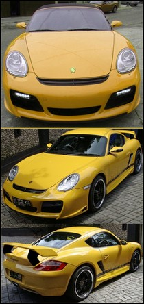 2005-9999 Porsche Cayman NR Auto GT Body Kit
