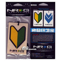 All Jeeps (Universal), All Vehicles (Universal) NRG Innovations Air Freshener - JDM Novice Logo w/ Squash Scent
