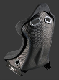 2002-2004 Volvo S40 NRG Racing Seat - Carbon Fiber Bucket (Small)