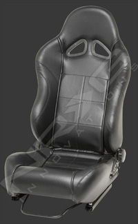 2002-2004 Volvo S40 NRG Racing Seat - Carbon SIM (Left)