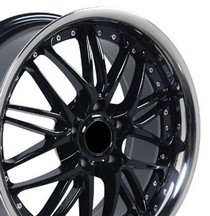 "1996-9999 BMW Z3 OE Wheels 18""X8"" 3 Series Morxchn Wheel (Black)"