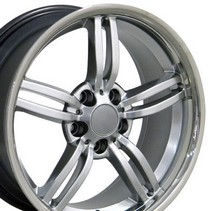 "1996-9999 BMW Z3 OE Wheels 18""X8"" 3 Series Morxchn Wheel (Hyper Silver)"