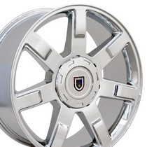 "2000-2006 Chevrolet Tahoe OE Wheels 22""X9"" Escalade Replica Wheel (Chrome)"