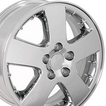 "2001-2005 Pontiac Aztek OE Wheels 17""X6.5"" OEM Montana 6579 Wheel (Chrome)"