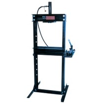 Universal (All Vehicles) Omega 12 Ton Shop Press With Hand Pump