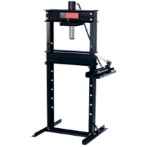 Universal (All Vehicles) Omega 25 Ton Shop Press With Hand Pump
