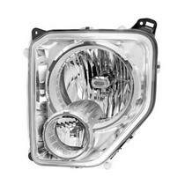 08-10 Jeep Liberty Limited, 08-10 Jeep Liberty Sport, 2010 Jeep Liberty Renegade Omix-Ada Headlight - Left (With Fog Light)