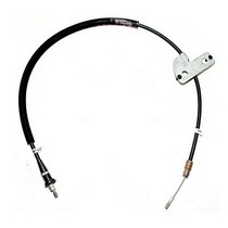 05-08 Jeep Grand Cherokee Laredo, 05-08 Jeep Grand Cherokee Limited, 06-08 Jeep Grand Cherokee Overland, 06-08 Jeep Grand Cherokee SRT8, 2006 Jeep Grand Cherokee 65th Anniversary Edition Omix-Ada Emergency Brake Cable - Rear