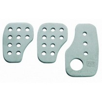 2008-9999 Jeep Liberty OMP 3 Pre-curved pedal set