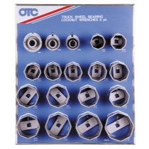 1999-2005 Volkswagen Golf OTC 8 Point Wheel Bearing Locknut Socket Display