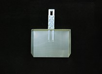 1966-1970 Ford Falcon Owens RaceMates Dustpan - Smooth Aluminum
