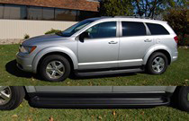 2009-2010 Dodge Journey Except R/T Owens Premier Series Custom Molded ABS Running Boards