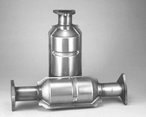 All Jeeps (Universal), All Vehicles (Universal) Pacesetter Hi Flow Oval Catalytic Converter - 4