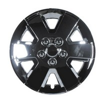 2002-2005 Honda Civic_SI Pacific Rim Chrome Wheel Skins - Complete Set - Focus Style - 15""