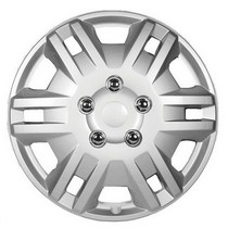 2006-9999 Audi A3 Pacific Rim Chrome Wheel Skins - Complete Set - Bengal Style - 15""