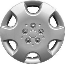 1974-1976 Ford Elite Pacific Rim Chrome Wheel Skins - Complete Set - Saturn Style - 16""