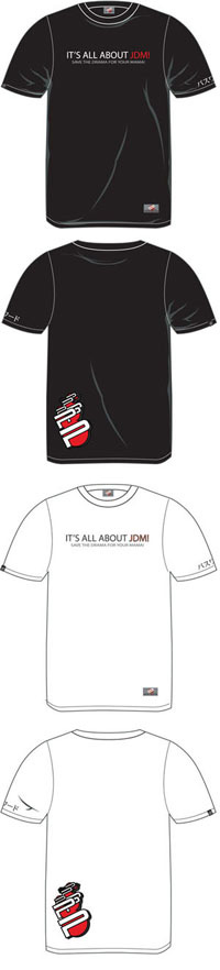 "1973-1978 Mercury Colony_Park Password JDM Apparel - ""Its All About JDM"" Shirt (Black)"