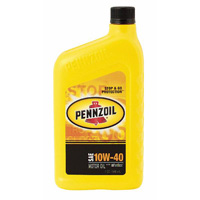 1995-1999 Dodge Neon Pennzoil Motor Oil - 10W40 CS12