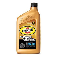 1996-2000 Plymouth Voyager Pennzoil Synthetic Blend - 5W30 CS6