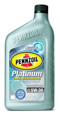 1995-1999 Dodge Neon Pennzoil Platinum Synthetic - 5W30 CS6