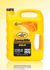 1995-1999 Dodge Neon Pennzoil Long Life Oil - 15W40 2.5 Gallon C12