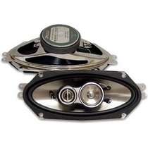 "2007-9999 Saturn Aura Performance Teknique 500W 4"" x 10"" 3-Way Coaxial Speakers"