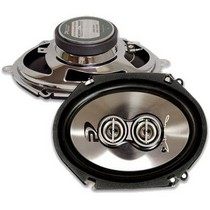 "2007-9999 Saturn Aura Performance Teknique 500W 6""x8"" 3-Way Coaxial Speakers"