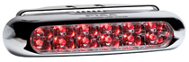 1966-1971 Jeep Jeepster_Commando PIAA Deno-3 Red Rear Fog LED Lamp Kit