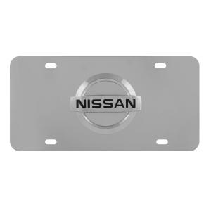 2 Lavnox Carbon Fiber Metal 370Z License Plate Frame Tag Holder Mount for Nissan 370Z