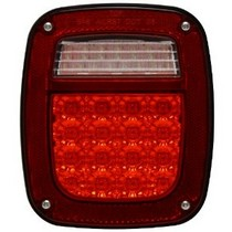 96-06 Wrangler TJ Pilot L.E.D. Driver Side Tail Light