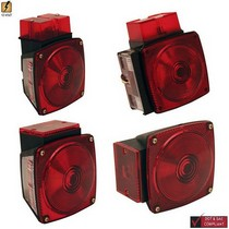 1995-1997 Audi S6 Pilot Stop, Turn & Tail Light, Submersible Light