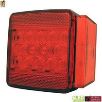 1998-2004 Lexus Lx470 Pilot L.E.D. Submersible Trailer Light (Red)