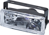 "2004-9999 Nissan Titan Pilot Driving Lights - 5""x2"" Rectangular w/ LED Accent (7 Color)"