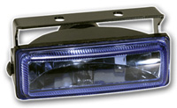 "1986-1992 Mazda RX7 Pilot Fog Lights - 4-5/8""x1-3/4"" Rectangular Kit (Blue)"