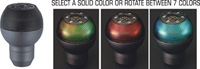 1954-1961 Plymouth Belvedere Pilot Shift Knobs - Manual Seven Color Mesh