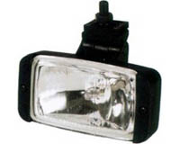1991-1993 GMC Sonoma Pilot Motorsports Foglights - Driving Light (Clear Beam / Black Plastic Housing)