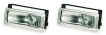 "1997-2002 Mitsubishi Mirage Pilot 5"" x 1-7/8"" Rectangular Driving Light Kit (Clear)"