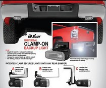 All Jeeps (Universal), Universal Pilot Hitch/Bumper Mount Backup Light