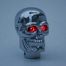 1991-1996 Ford Escort Pilot Lighted Skull Manual Shift Knob