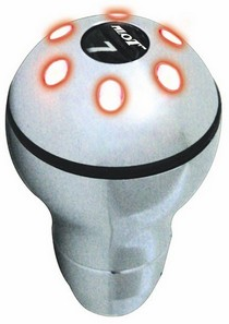 1960-1961 Dodge Dart Pilot 7 Color LED Manual Shift Knob