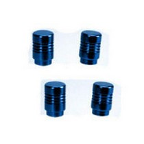 1964-1973 Ford Mustang Pilot Tuner Tire Valve Stem Caps (Blue)